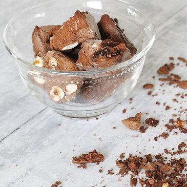 Raw chocolate freezer truffle fudge #nut