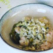 Spring green prawn risotto.jpg