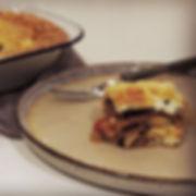 Vegetarian moussaka__#dairyfreemoussaka