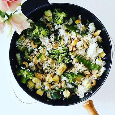 Vegetable egg fried cauli-rice__#nutriti