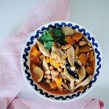 Chickpea & butternut slow cooked Thai st