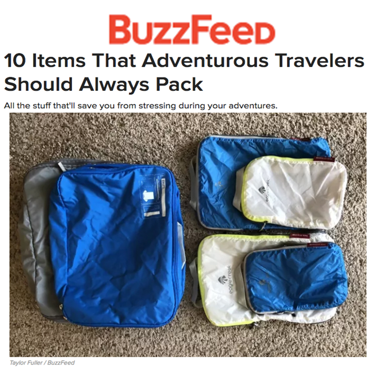 EC Pack It on Buzzfeed
