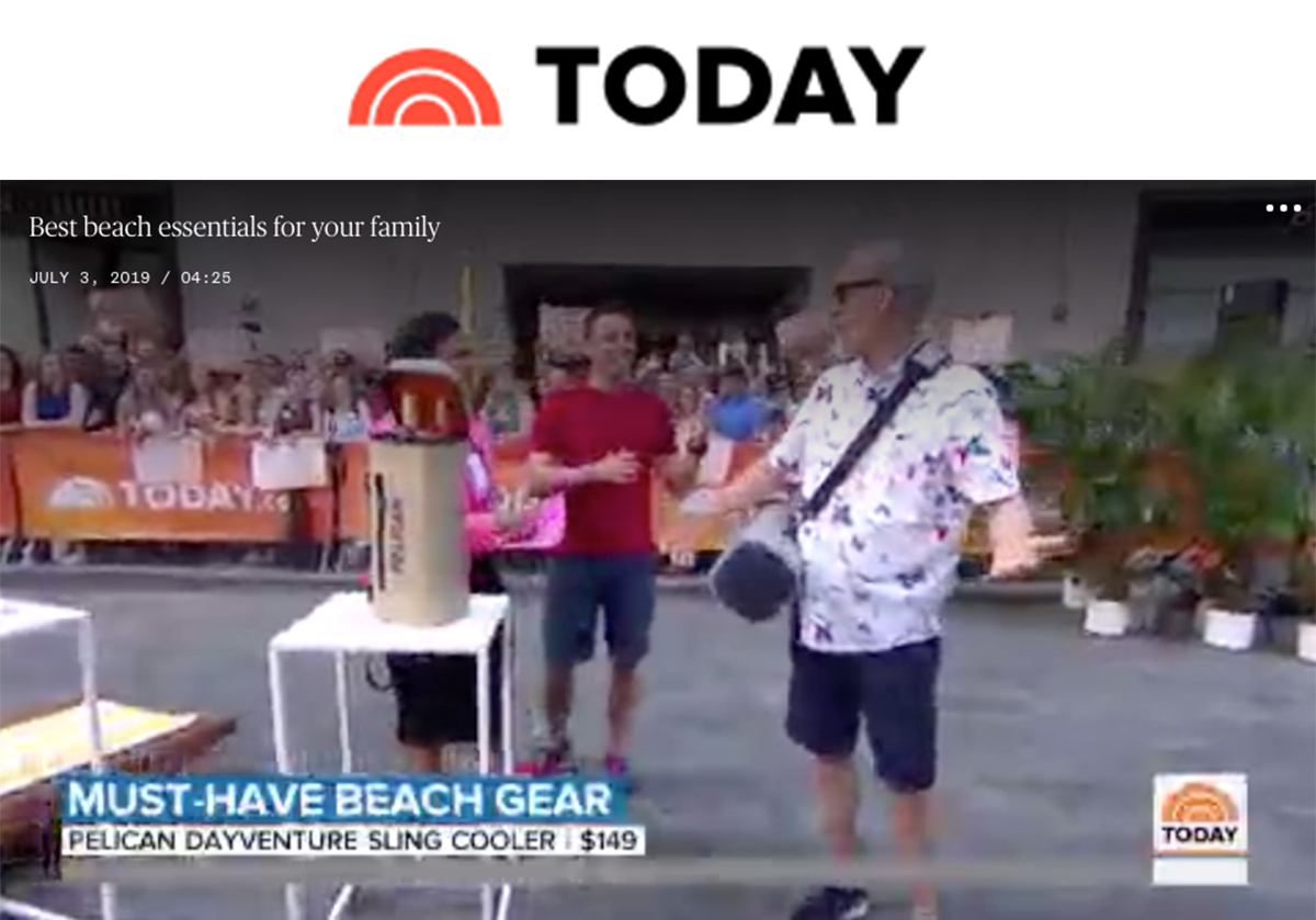 Pelican Dayventure on today Show 0719
