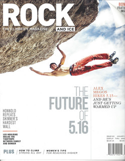 Berghaus ambassador in Rock and Ice
