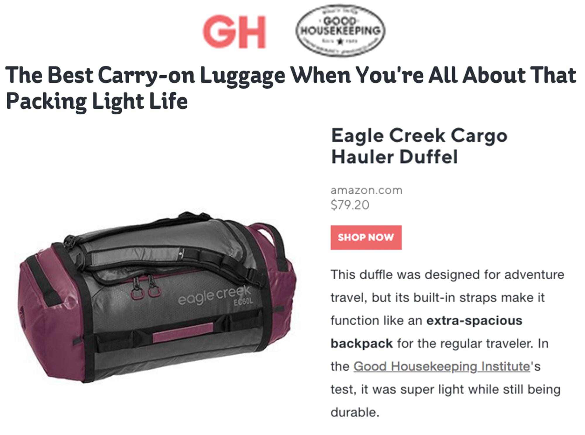 EC cargo hauler on GH 0418