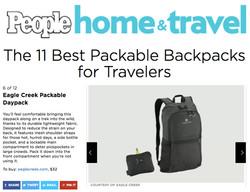 EC Packable Daypack on People