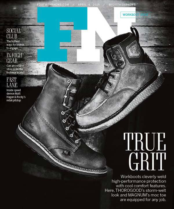 Magnum on Footwear News