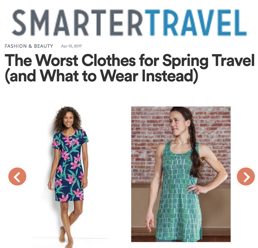 Smarter Travel: Nuu-Muu dresses