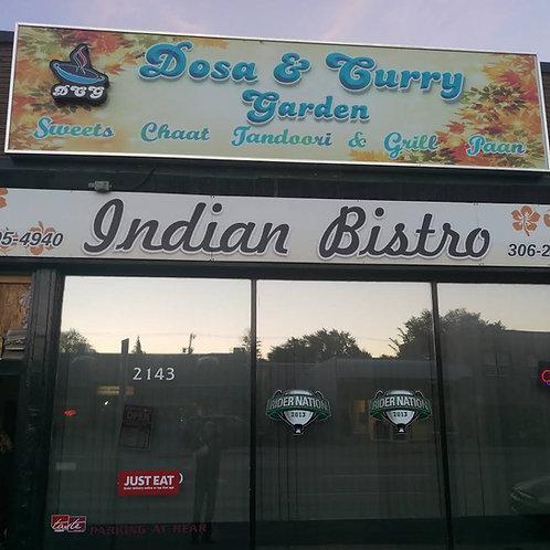 $35 to Dosa Curry Garden