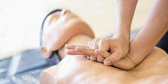 CPR training medical procedure - Demonst