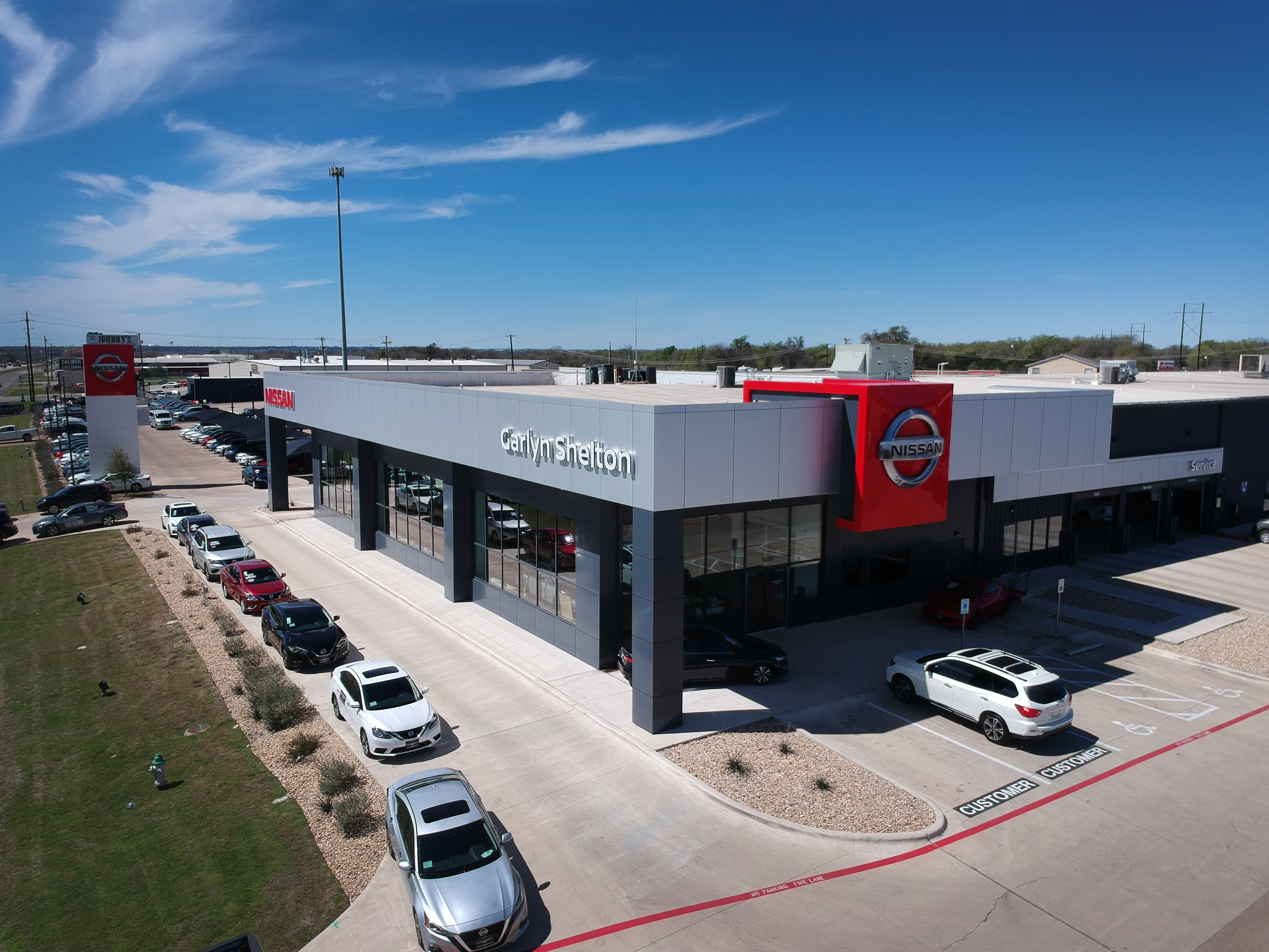 Garlyn Shelton Nissan >> Garlyn Shelton Nissan   Temple, Tx   Neal Architectural Group
