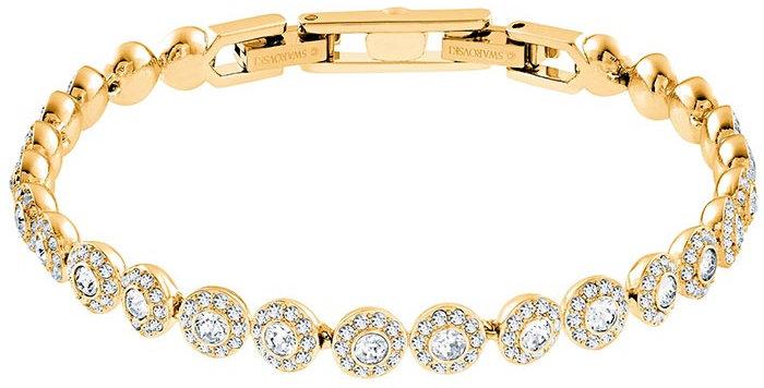 Swarovski armband Angelic, gult