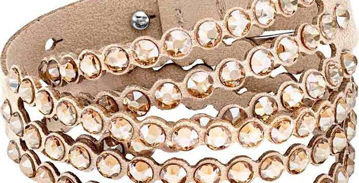 Swarovski armbånd Power Collection, Beige