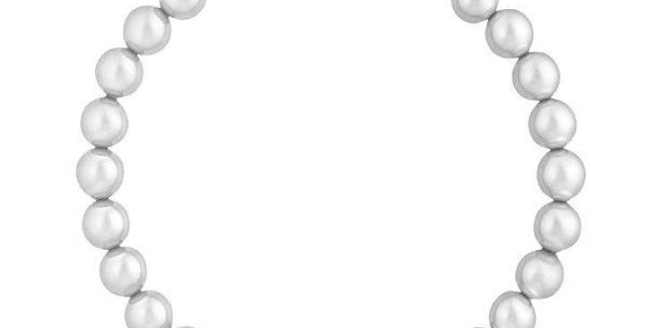 Swarovski armbånd Remix Collection Light Gray Pearl