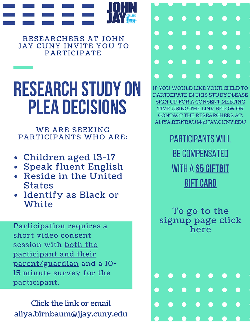 Copy of Research Study on Plea Decisions