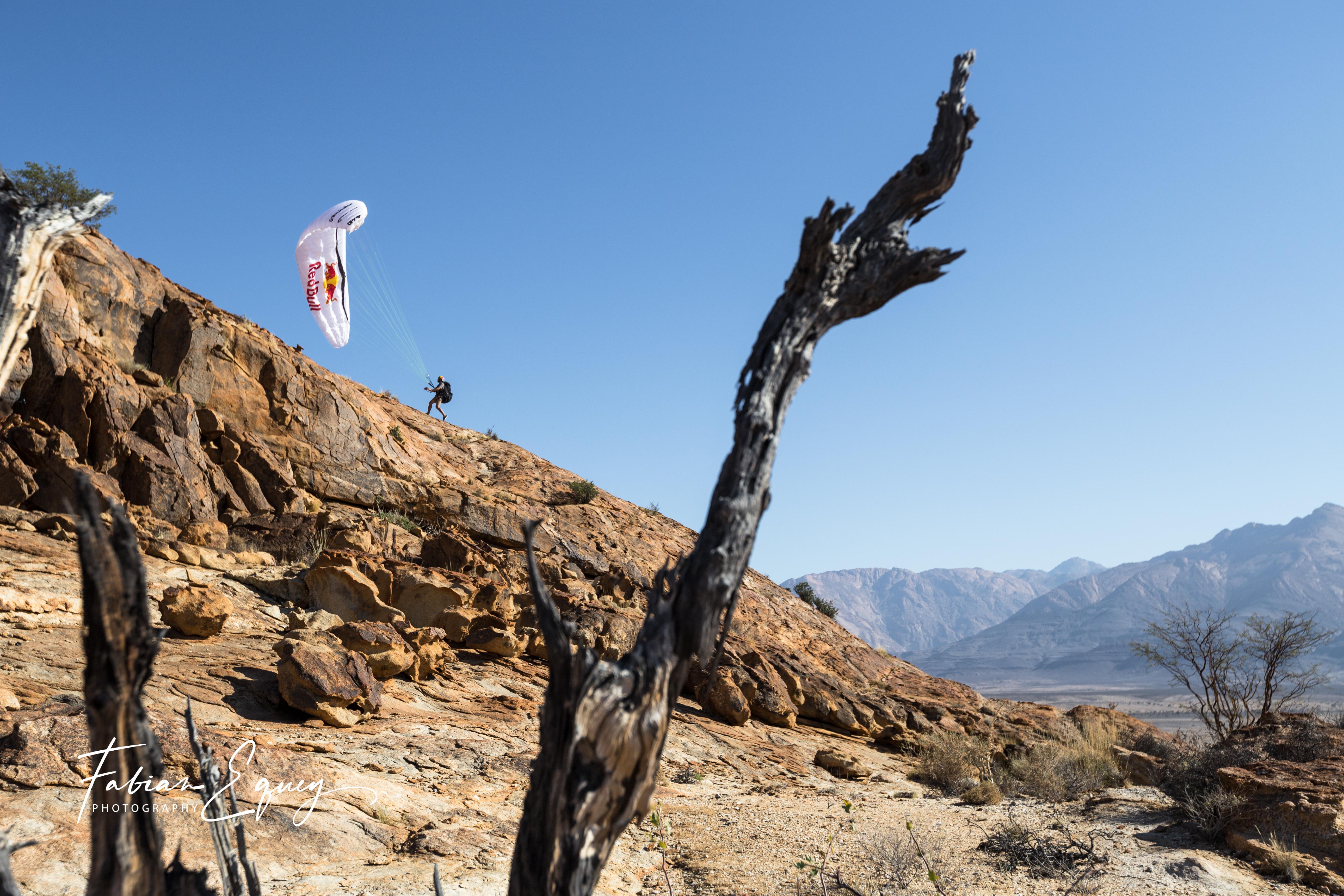 Pilot: Tim. Namibia