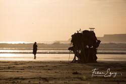 Moroccan beach life