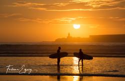 Surfers, Essaouira, Morocco