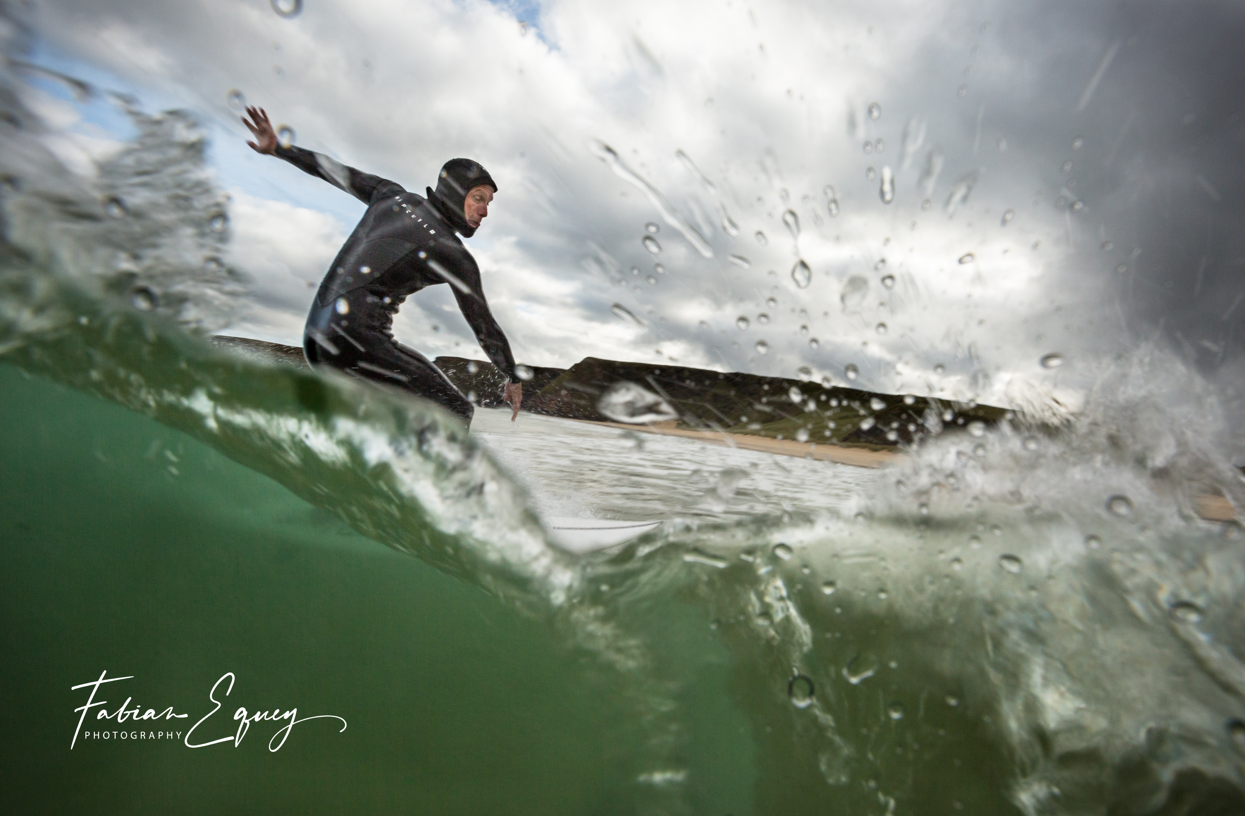 Surfer: Fred. Scotland
