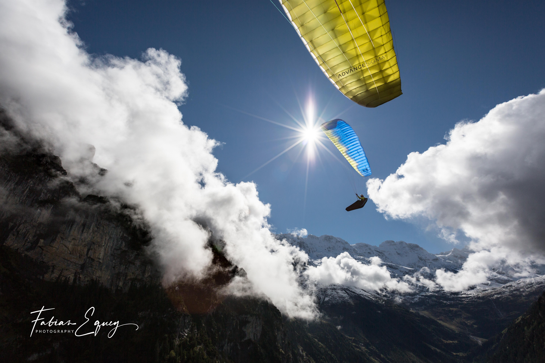 Pilot: Wouter. Jungfrau region