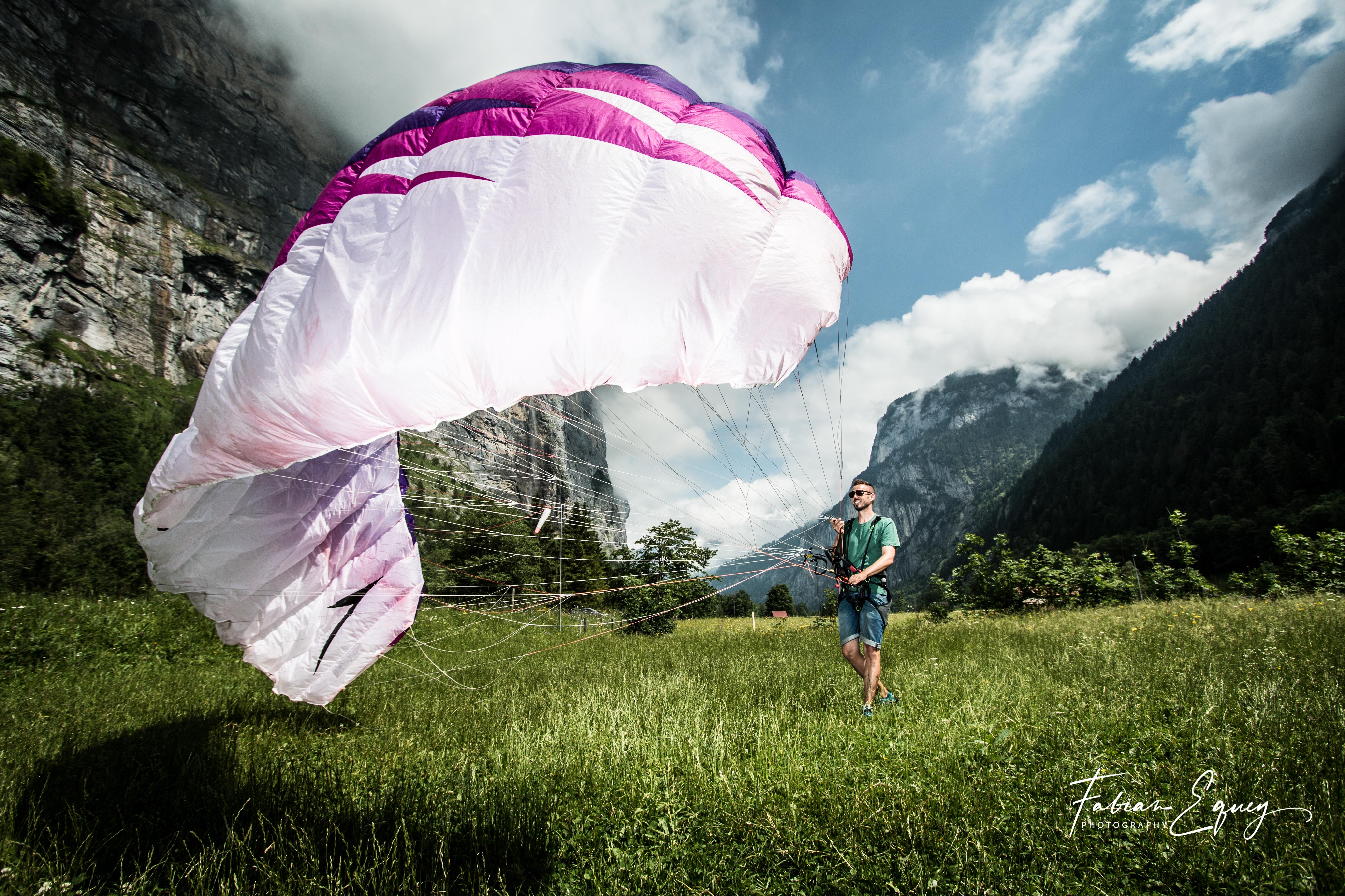 Pilot: Marcel. Jungfrau region