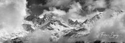 Swiss alps, Valais.