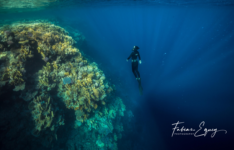 Freediver: Elisabeth. Rasmuhammed.