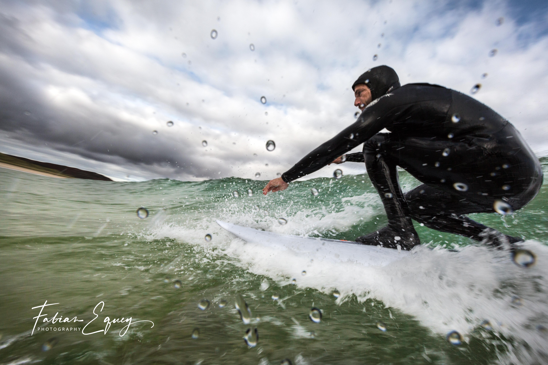 Surfer: Olivier. Scotland