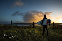 Surfer: Fred. Scotland