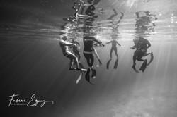 Freedivers.