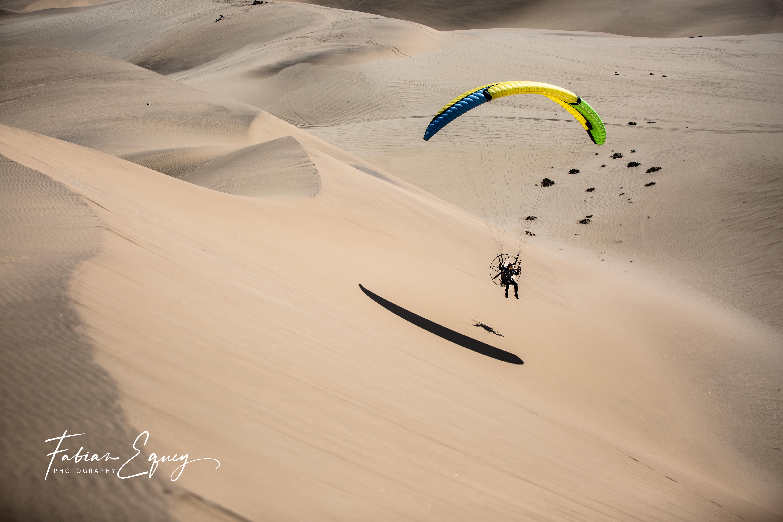 Pilot: Cyrille. Namibia