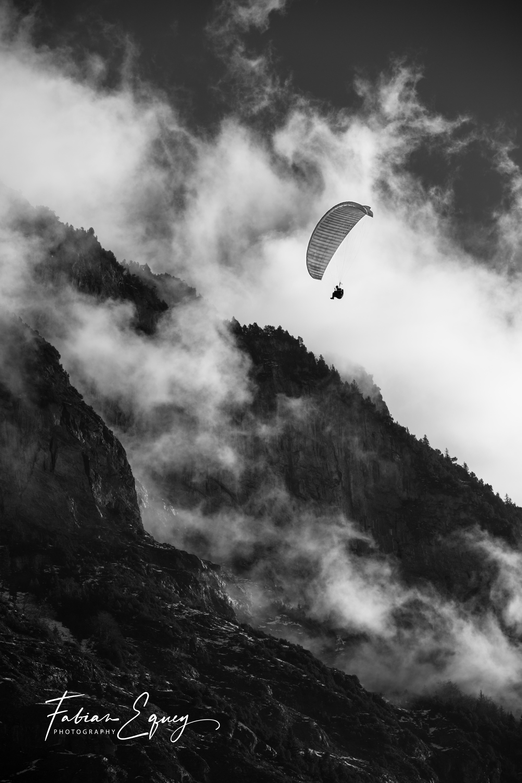 Paragliding, Jungfrau region