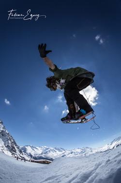 Rider: Jeremy. Verbier, Switzerland