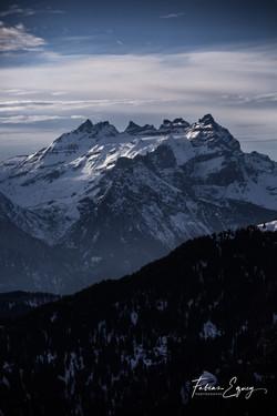 Aiguilles du Midi, Switzerland