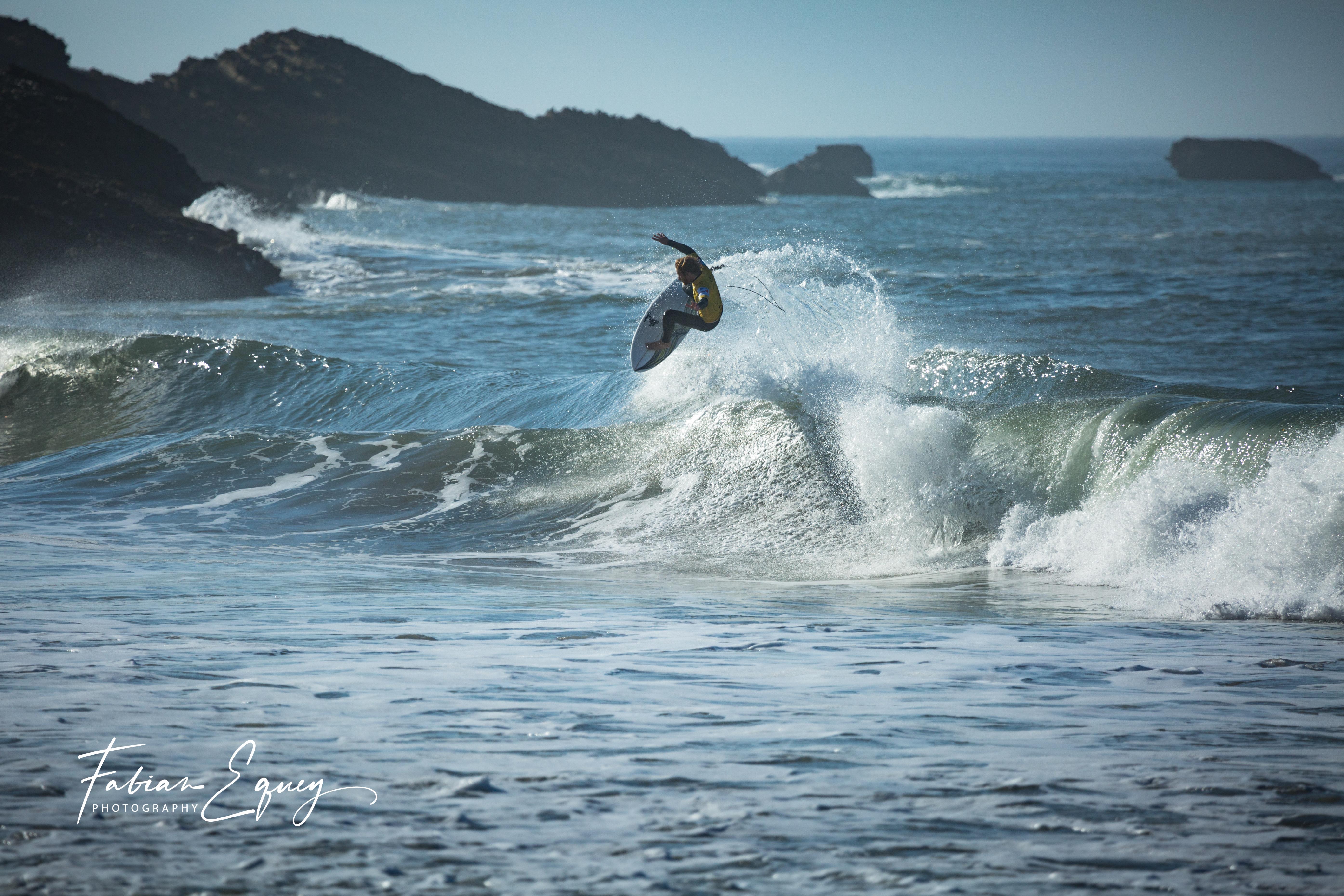 Surfer: Rolland. Biarritz