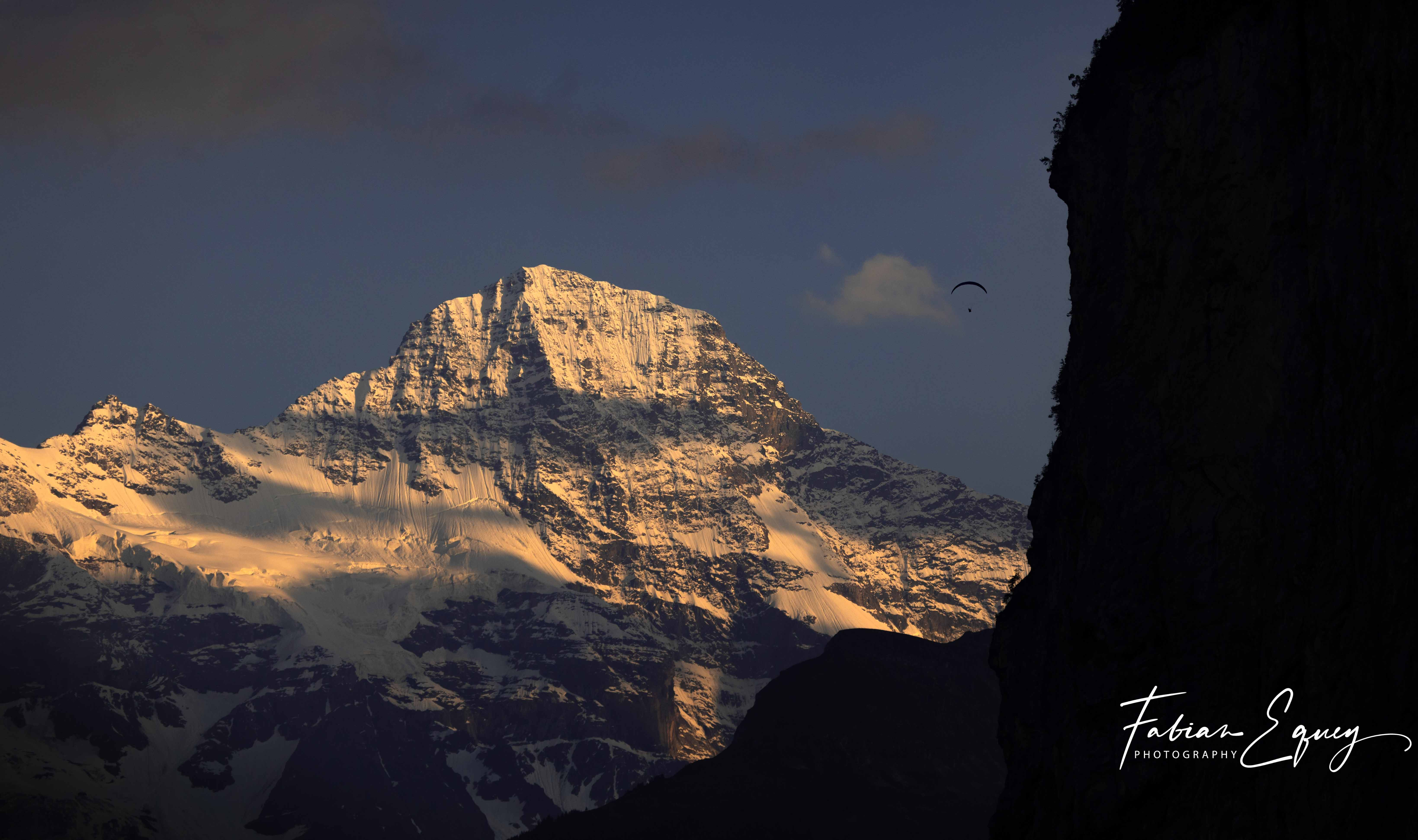 David Geiser, Lauterbrunnen valley.