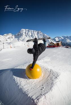 Rider: Thomas. Verbier, Switzerland
