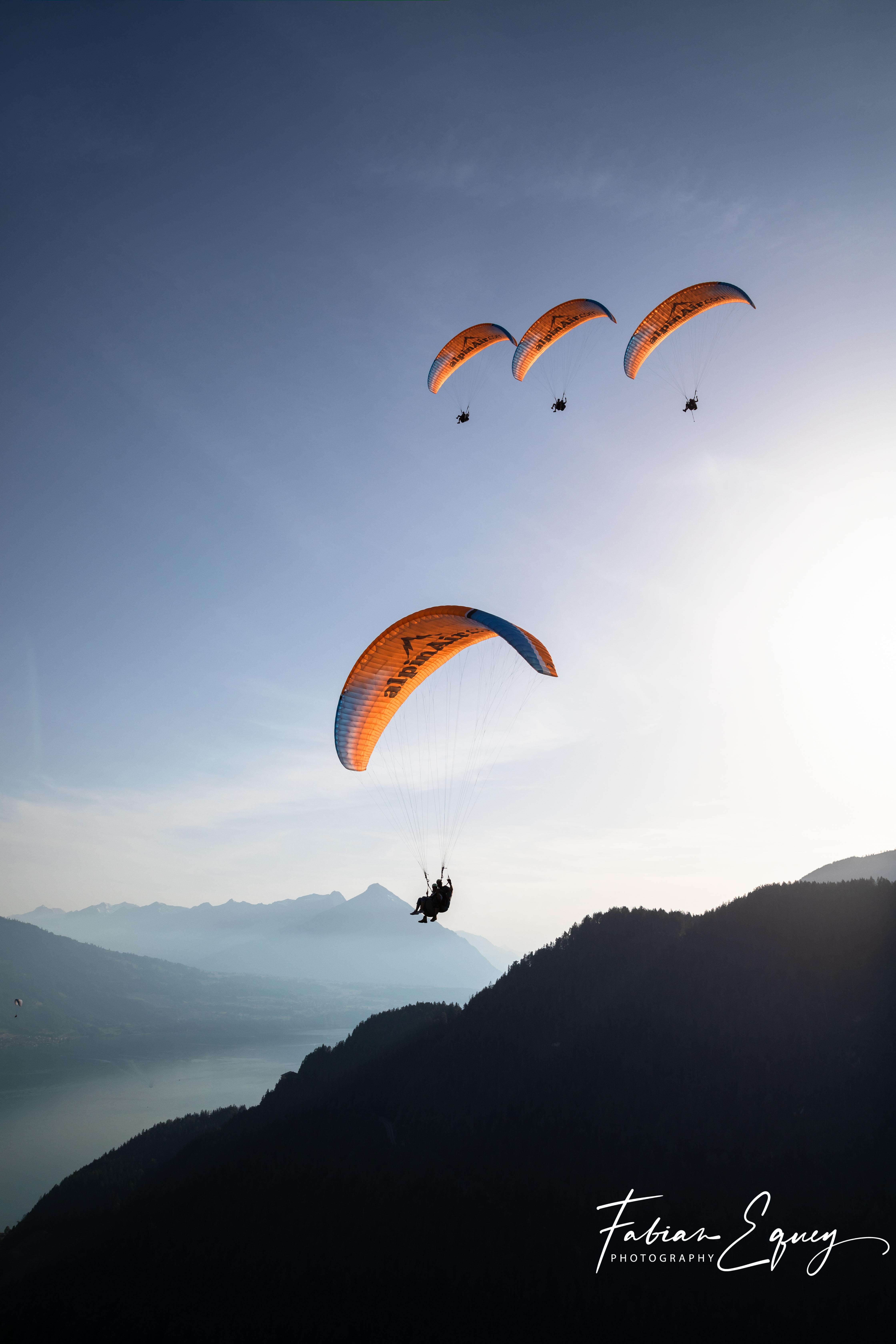 Tandem Paragliding, Beatenberg