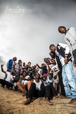 Namibian students, Cyrille Marck