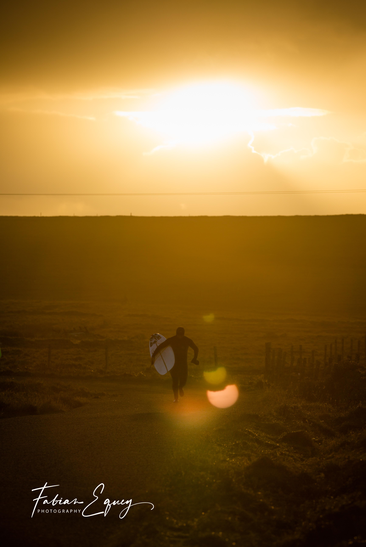 Surfer: Darius. Scotland