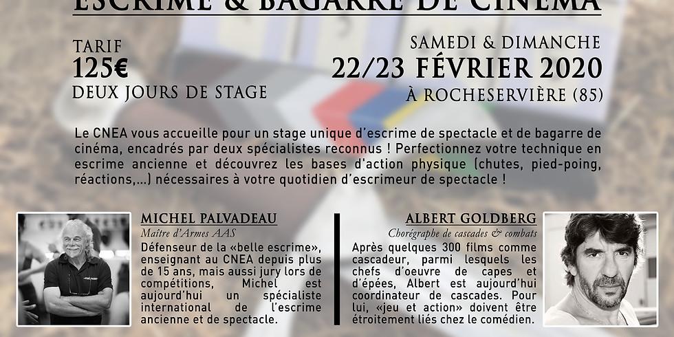 """Février 2020 - Stage """"Escrime & Bagarre de Cinéma"""""""