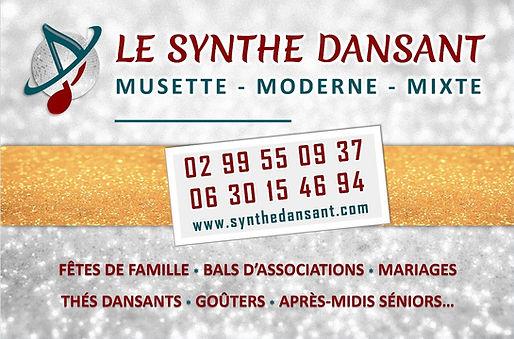 Carte de visite du Synthé Dansant