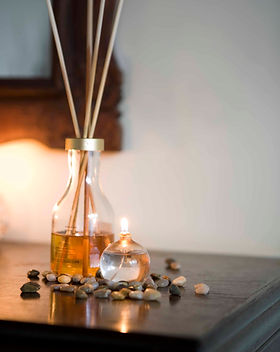 Wierook en etherische olie