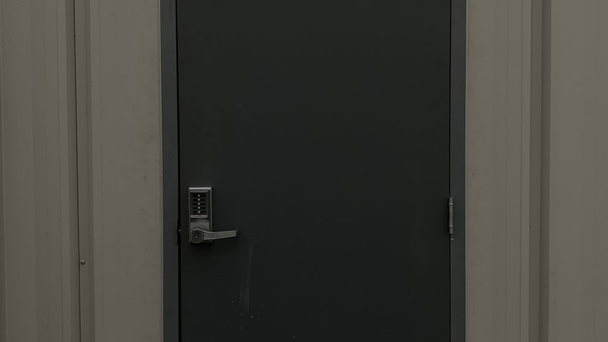 OTP Mand Door and Frame Install