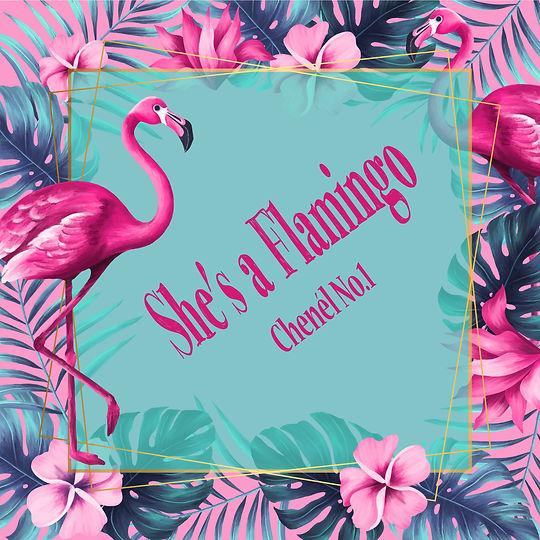 She's a Flamingo