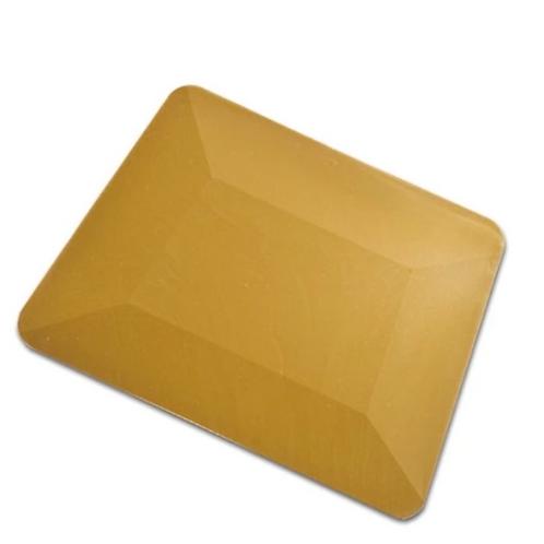 """4"""" Gold Teflon Hard Card"""