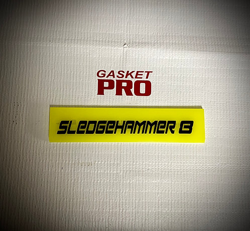 """Sledgehammer - Flat Glass 8"""" Blade for The Fusion 8 Handle"""