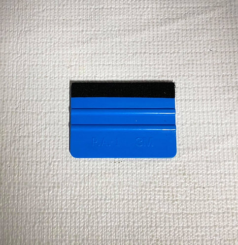 Blue 3M Felt Edge Hard Card