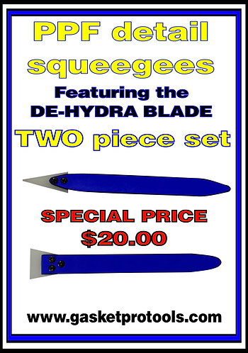 PPF detail squeegees