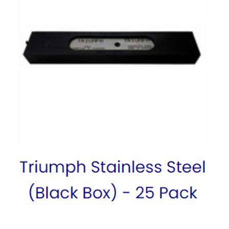 "TRIUMPH 6"" S/S BLADES"
